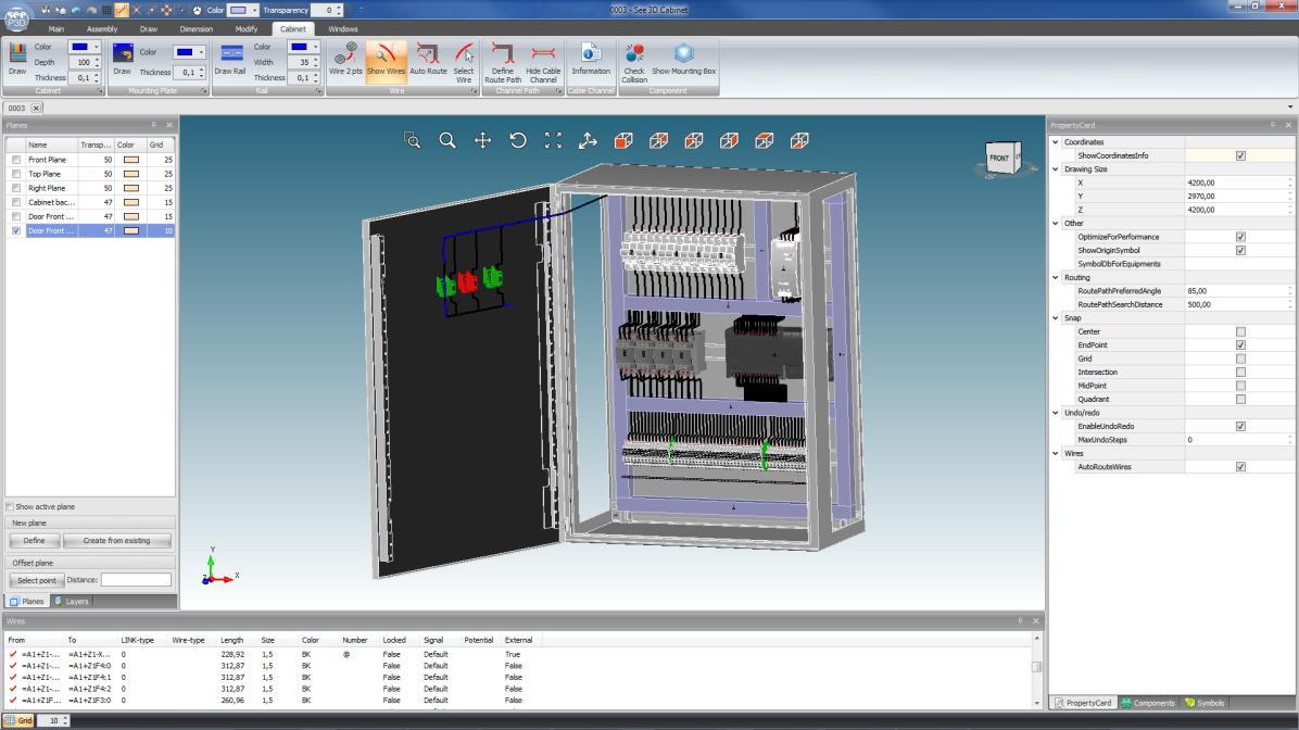 autocad electrical 3d panel  | desktop-eda.com.au